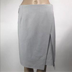 Amanda+Chelsea Faux Wrap Pencil Stretch Skirt